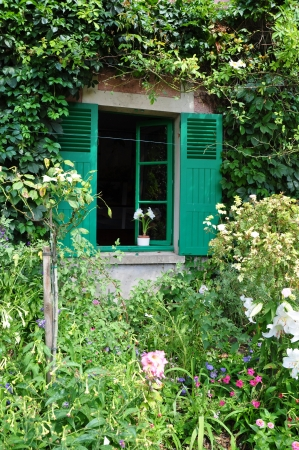 House of Claude Monet in Giverny, France photo