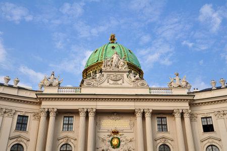 hofburg: Ch�teau Hofburg, � Vienne, en Autriche