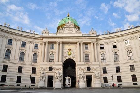 hofburg: Ch�teau de Hofburg � Vienne, Autriche �ditoriale