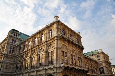 Vienna Opera Building in Austria