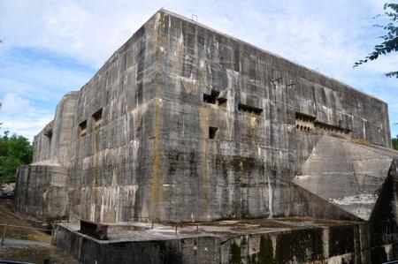 tallboy: Blockhaus d �perlecques, unfinished German V2-rocket production facility and launchpad  near Saint-Omer, d�partement Pas-de-Calais, France