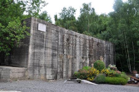 tallboy: Blockhaus d Éperlecques, unfinished German V2-rocket production facility and launchpad  near Saint-Omer, département Pas-de-Calais, France  Editorial