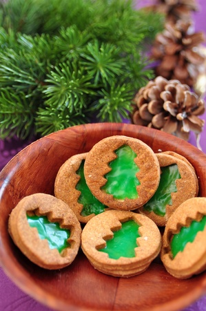 Christmas Tree Cookies photo
