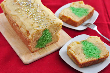 Christmas Tree Cake photo