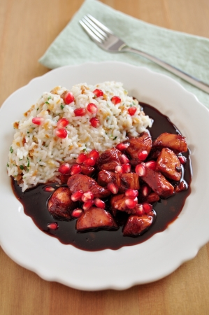 Sweet and Sour Cranberry Chicken photo