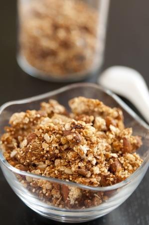 quinua: Org�nica Granola con quinua