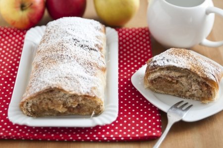 German Apple Strudel Pie photo