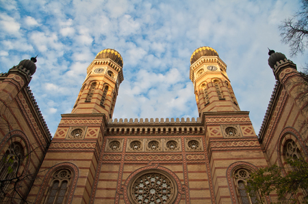 zionism: Great Synagogue in Budapest