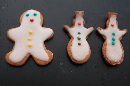 Gingerbread Man Cookies photo