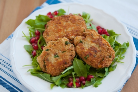 Healthy Quinoa patties photo