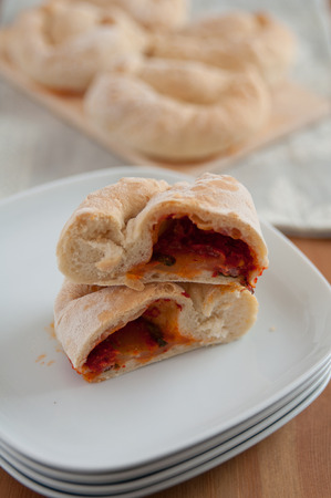 Mini Calzone Pizza photo