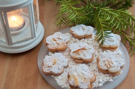 Almond Sugar Cookies Stock Photo - 24139326