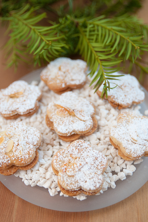 Almond Sugar Cookies Stock Photo - 24139340