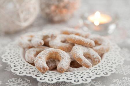 galletas de navidad: Alemanes Vanille Kipferl Galletas de Navidad