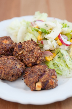 Healthy Burger Patties photo