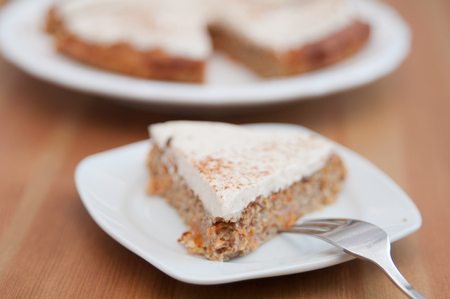 carrot cake: Carrot Cake with cinnamon cream cheese frosting