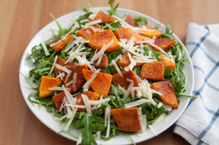 Pumpkin Arugula Salad photo