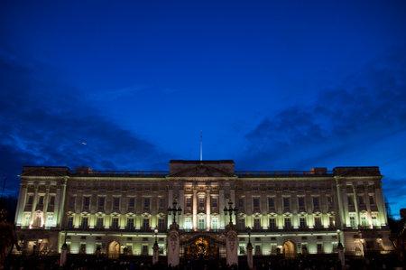 buckingham palace: buckingham palace  Editorial