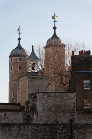 neo gothic: tower of London Editorial