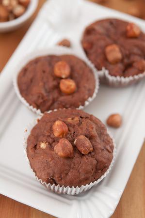 Chocolate Hazelnut Muffins photo