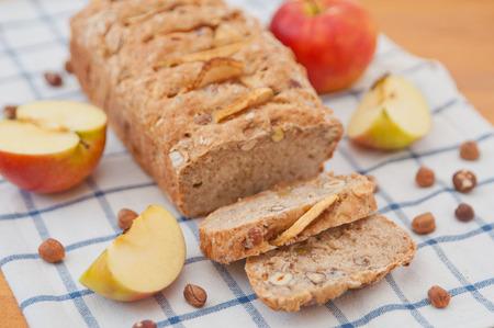 Apple Hazelnut Pie Stock Photo - 26170538