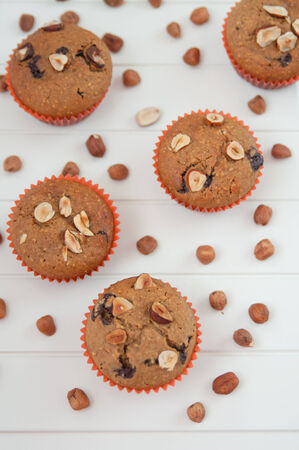 Hazelnut Chocolate Chip Muffins photo
