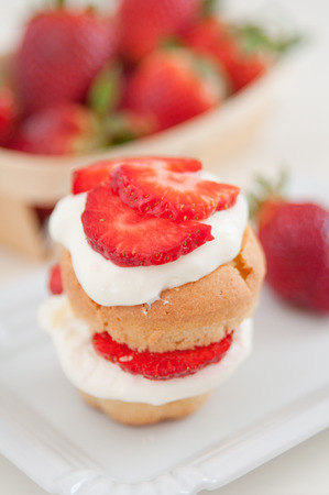 Muffins Strawberry Shortcake photo