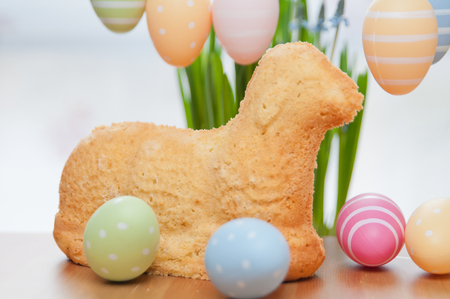 Easter Bunny Cake Stock Photo - 26876330