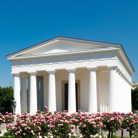 Theseus temple in park Volksgarten in Vienna, Austria  photo