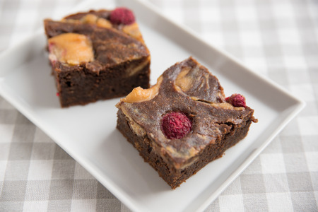 brownies: Peanut Butter Brownies