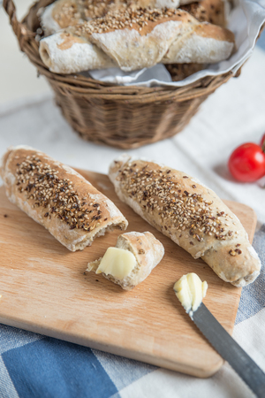 Bread Rolls Foto de archivo