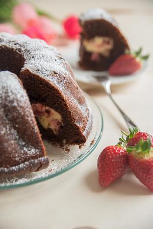plato del buen comer: chocolate bundt cake