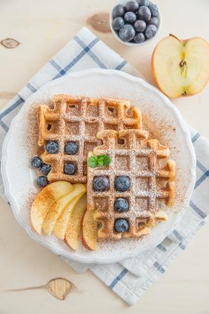 mornings: Waffles