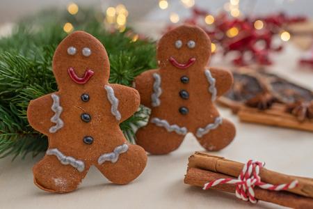 Christmas cookies Standard-Bild - 112265741