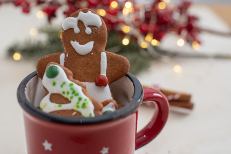 gingerbread Christmas cookies Standard-Bild - 113104025