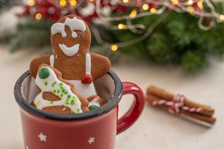 gingerbread Christmas cookies Standard-Bild - 113104026