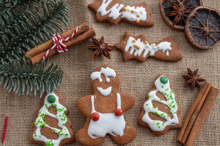gingerbread Christmas cookies Standard-Bild - 113104030