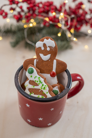 gingerbread Christmas cookies Standard-Bild - 113104037
