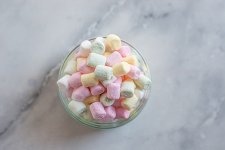 Colorful mini marshmallow