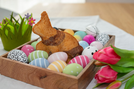 easter bunny cake Stock Photo