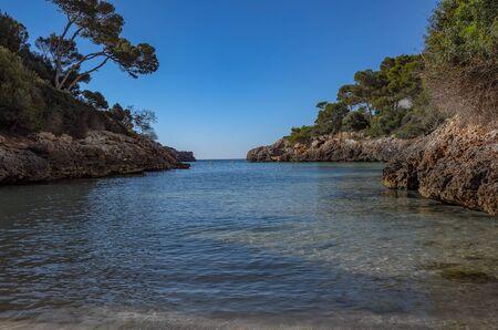 Cala Dor beach Stock Photo