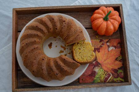 Pumpkin Sponge Cake