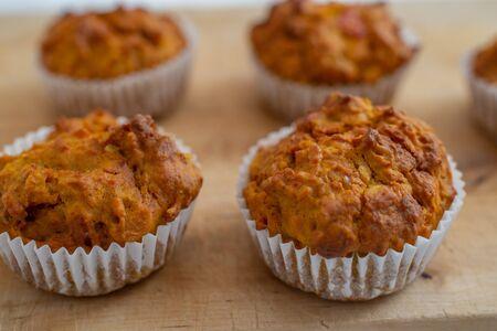 Home made Autumn Pumpkin Spice Muffins