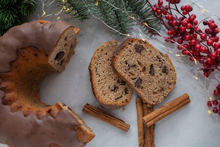 Gingerbread Bundt Cake for Christmas