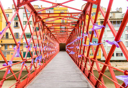 different perspective about girona bridge