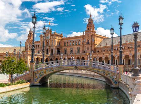 bridge square of sevilla