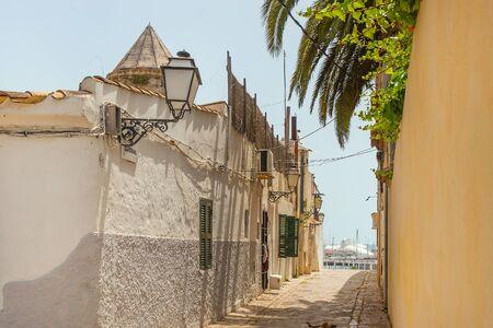 jewish home: The old Mediterranean city in Spain near sea