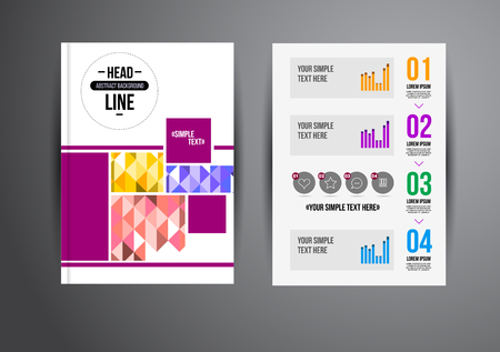 brochure template: Flyer, Brochure Design Templates. Geometric Abstract Modern Backgrounds. Presentation, Brochure or Flyer Infographic Concept.