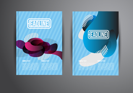 publisher: Flyer, Brochure Design Templates. Geometric Abstract Modern Backgrounds. Presentation, Brochure or Flyer Infographic Concept.