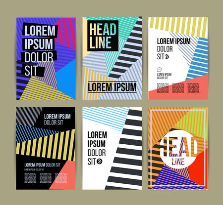 Flyer, Brochure ontwerpsjabloon. Geometrische abstracte moderne achtergronden. Presentatie, brochure of Flyer Infographic Concept.